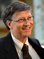 Magnate: Bill Gates